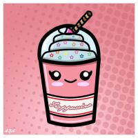 Kawaii Frappuccino by PixieDust01
