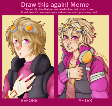 REDRAW: Fang by qhostkid