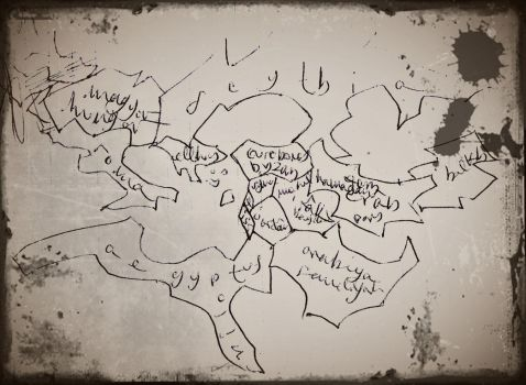 Map of Eurasia by atharvan