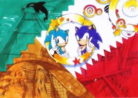 Sonic generations by 415sonic