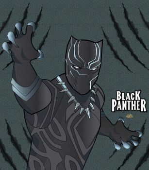 Black Panther by MrDouble8