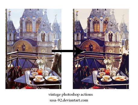 vintage photoshop actions by sasa-92