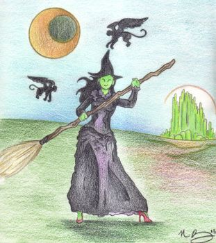 Elphaba by Spiralpathdesigns