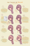 Hair Tutorial 2.0 by Nouraii