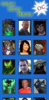 Voice Actor Meme - The Mohearts by Moheart7