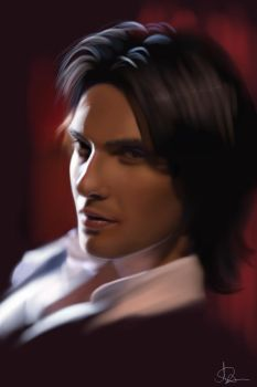 Ben Barnes - Speed Painting by nataliebeth