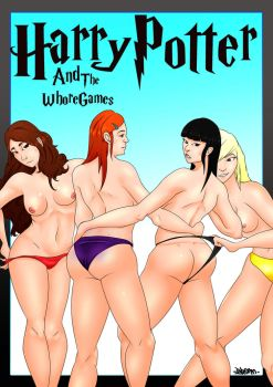 Harry potter and the Whore Games Cover by BromParadox