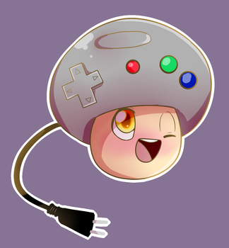 Gameshroom by BaconBloodFire