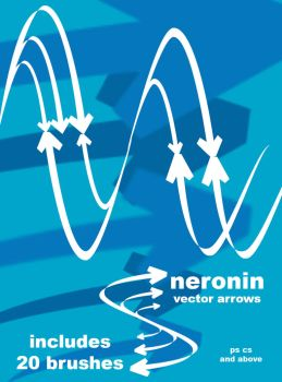 vector arrow brush pack by neronin