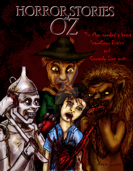Horror Stories of OZ Cover art by Rene-L
