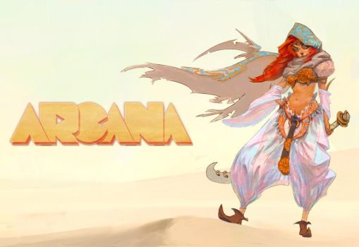 Arcana - Promo Poster by silent-rage