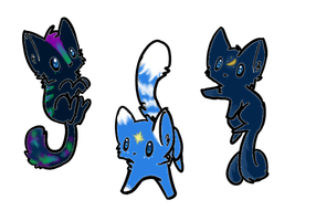 Cheap cat adoptables -CLOSED!!!- by LiL-Lolah