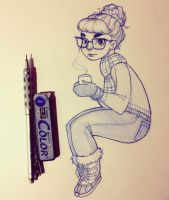 Hot Cocoa by ChrissieZullo
