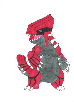 Groudon by Teru3