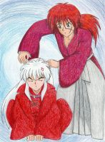 Kenshin and Inuyasha by ik