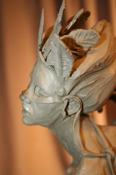 Sculpture: Almost Done O_O by JessicaDru