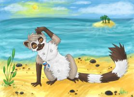 On the island by Murley