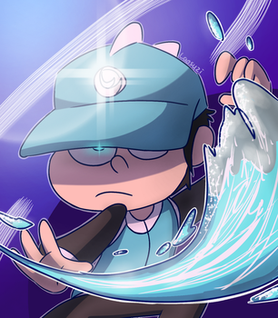 Waterbender by Laasuzi