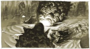 Call of Duty 2 concept drawing by torokun