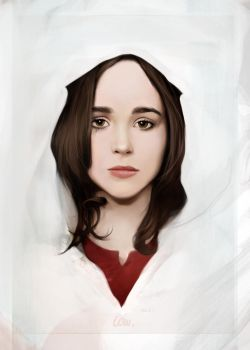 Day two - Someone you like : Ellen Page by laurelineparis