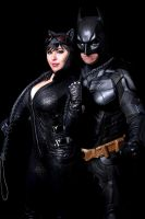 Batman and Catwoman by Sheik19