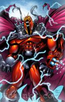 Magneto ONSLAUGHT by PatCarlucci