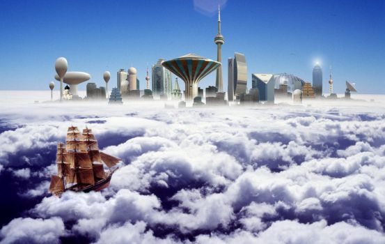 Cloud City by xanthine