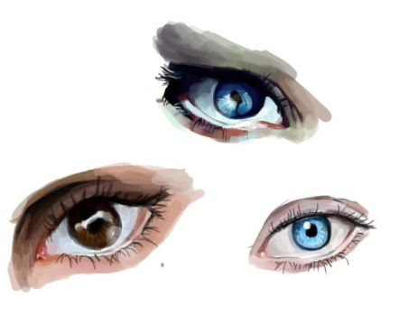 Eye practice by Toreeya