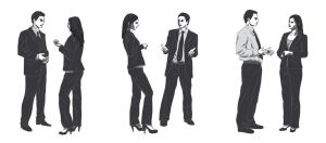 Business people by frana