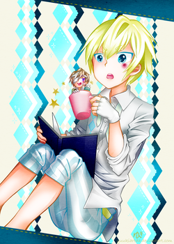 From the teacup... by yuukiartda