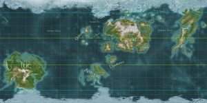 World Map of Nirn by n-a-i-m-a