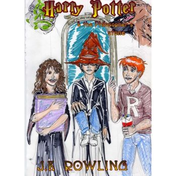Harry Potter and the philosophers stone cover by theaven