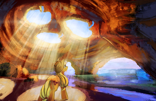 Apple Cove by BlindCoyote
