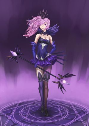 Elementalist Lux Fanart Dark Element