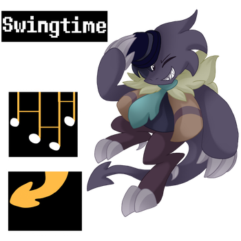 Undertale Oc Swingtime by xXNovaNepsXx