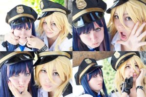 Stupid police face. P\S cosplay. by Giuzzys