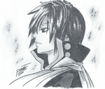 Fairy Tail - Black Mage Zeref by passion00