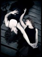 Entwined by photodust