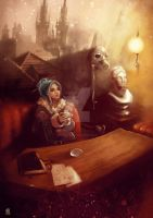 Poison Kitchen - Daughter of smoke and bone by Manidiforbice