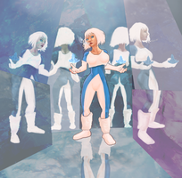 Women of comics: Ice by JCCabs