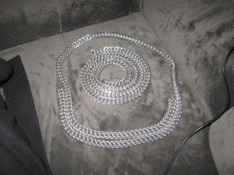 Persian 6-in-1 Chainmaille Chain by rushtalion