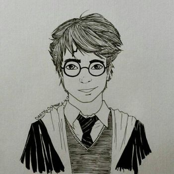 Harry Potter by DarkMageComet