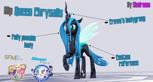 [SFM/Gmod] Queen Chrysalis 1.2 by Sindroom