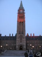 Parliament in the Morning by silentpat
