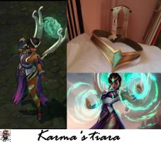 Karma's tiara - League of Legends by Scarlatta93