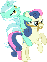 Lyra Riding BonBon by adcoon