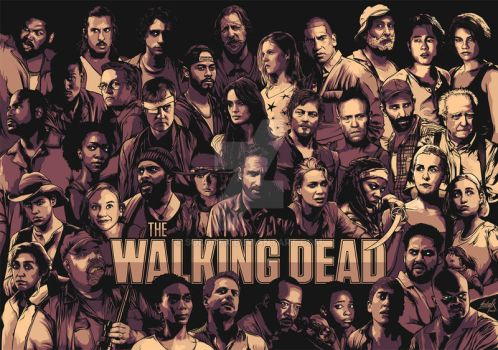 The Walking Dead by sologfx
