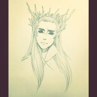 [FA] Elven King Thranduil by seirenity