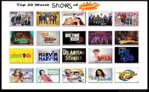 My Top 20 Worst Shows on Nickelodeon by Toongirl18