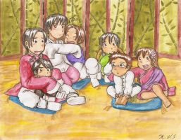 Asian Family by gohe1090
